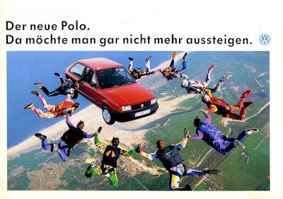 VW Polo 2 Facelift Prospekt 9.1990