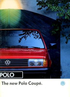 VW Polo 2 Facelift Prospekt 8.1990 e