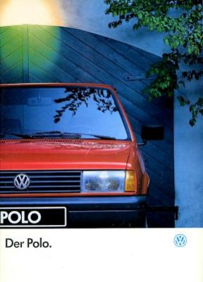 VW Polo 2 Facelift Prospekt 1.1993