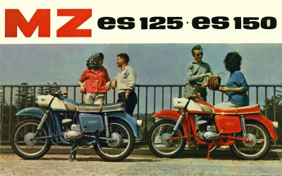 MZ ES 125 und 150 Prospekt 1963