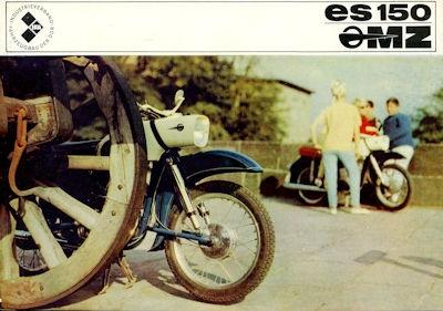 MZ ES 150 Prospekt 1966