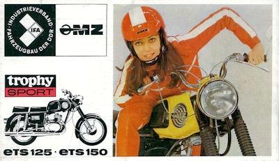 MZ ETS 125 150 Prospekt 1972
