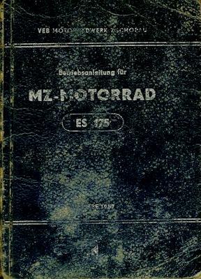 MZ ES 175 Bedienungsanleitung 11.1956
