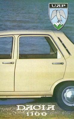 Dacia 1300 Prospekt 1970er Jahre