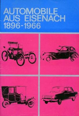 Automobile aus Eisenach 1896-1966 Broschüre