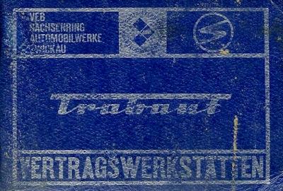Trabant Vertragswerkstätten 1970