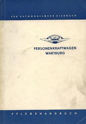 Wartburg 311 Pflegehandbuch 1962