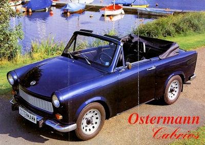 Trabant Ostermann Cabrio´s Prospekt 1990er Jahre