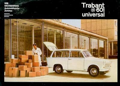 Trabant 601 Universal Prospekt 1966