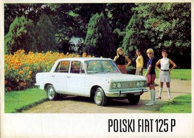 Polski Fiat 125 P Prospekt 1968