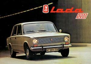 Lada 1200 Prospekt 1970er Jahre