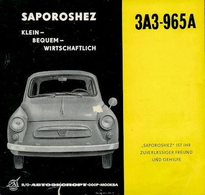 Saporoshez SAS-965A Prospekt ca. 1962