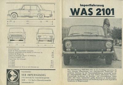 Schiguli WAS 2101 Prospekt 1971