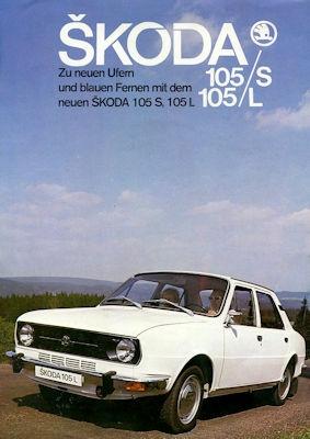 Skoda 105 S / L Prospekt 1976