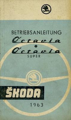 Skoda Octavia Bedienungsanleitung 1963