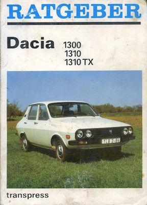 Dacia 1300 1310 1310TX Ratgeber 1990
