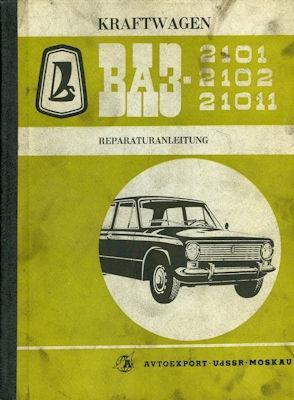 Lada 1200 / 1300 Reparaturanleitung 1978