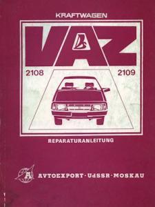 Lada Samara (VAZ 2108 2109) Reparaturanleitung 1980er Jahre