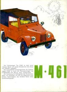 Auto-Tractor (Dacia ARO) M 461 Prospekt 1960er Jahre