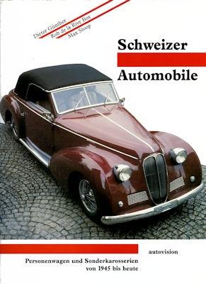Günther / de la Rive Box / Stoop Schweizer Automobile 1945 bis heute von 1992