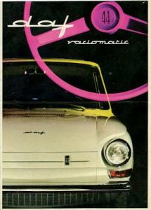 Daf 44 Prospekt 9.1966