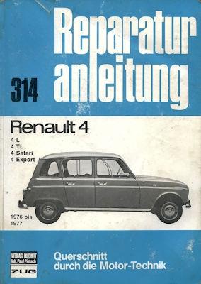 Renault 4 Reparaturanleitung 1976-1977