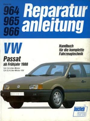 VW Passat Reparaturanleitung ab 1988
