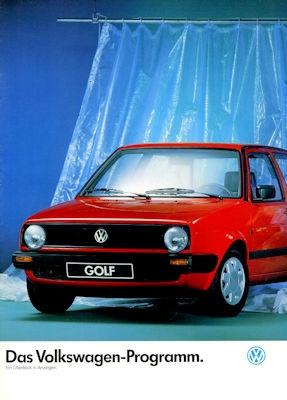 VW Programm 8.1988