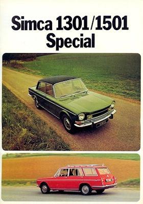 Simca 1301 1501 Prospekt 1973
