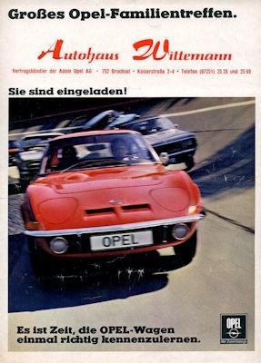 Opel Programm 9.1968