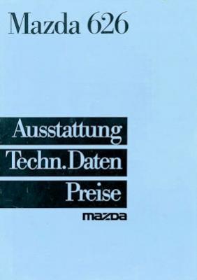 Mazda 626 Preisliste 1985