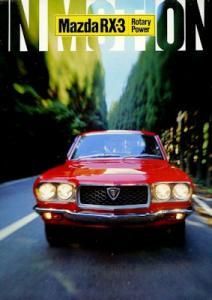 Mazda RX 3 Wankel Motor Prospekt 1972