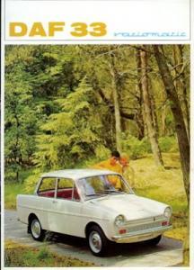 Daf 33 variomatic Prospekt 9.1967