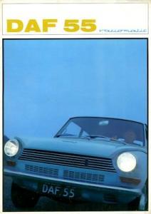 Daf 55 Prospekt 12.1967