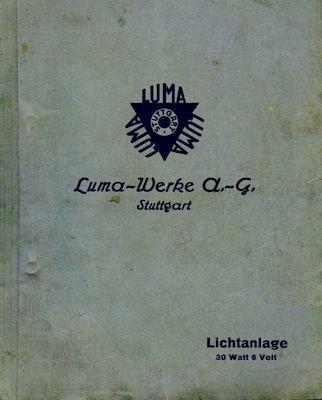 Luma Licht- und Anlasser-Anlagen 8.1924 0