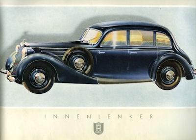 Horch V 8 Zylinder Prospekt 1939 1