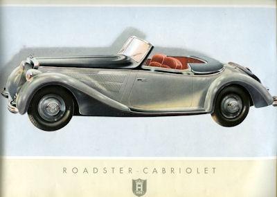 Horch V 8 Zylinder Prospekt 1939 3