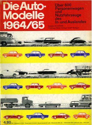 Auto Modelle 1964/65 Nr. 8