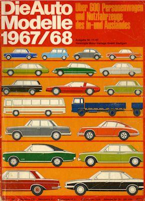 Auto Modelle 1967/68 Nr.11