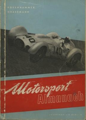 Rosenhammer / Grassmann Motorsport Almanach 1953