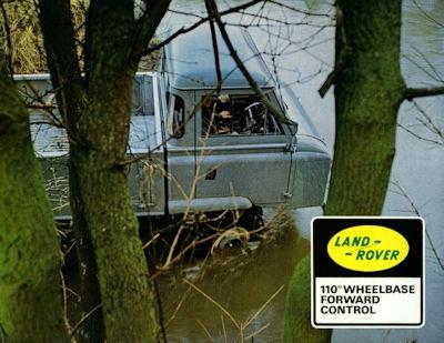 Land-Rover 110 Wheelbase Forward Control Prospekt 1960er Jahre