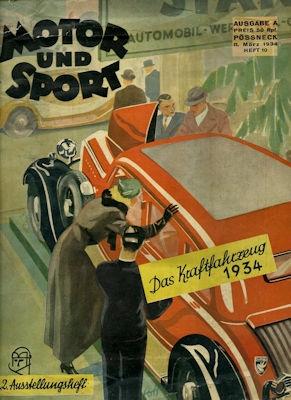 Motor & Sport 1934 Heft 10