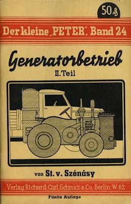 Der kleine Peter Bd. 24 Generatorbetrieb 2. Teil 1942