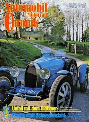 Automobil und Motorrad Chronik 1982 Heft 2