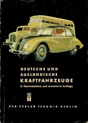 Deutsche und ausländische Kraftfahrtzeuge 1953