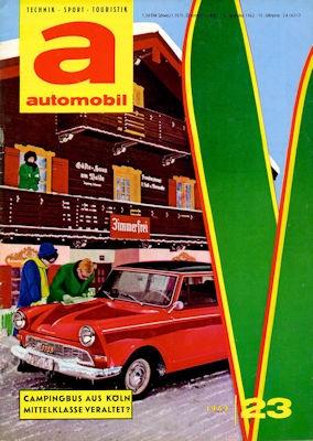 Automobil 1962 Heft 23