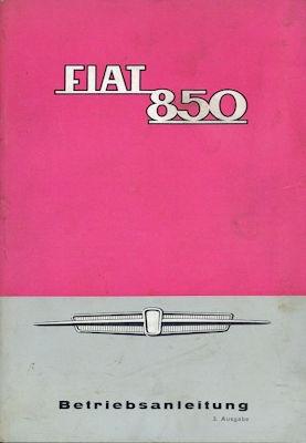 Fiat 850 Bedienungsanleitung 1965