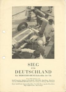 Mercedes-Benz Film Prospekt 1935