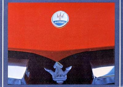 Maserati Programm 1974