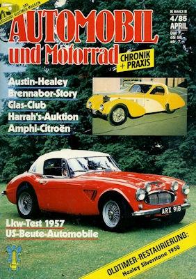 Automobil und Motorrad Chronik 1985 Heft 4